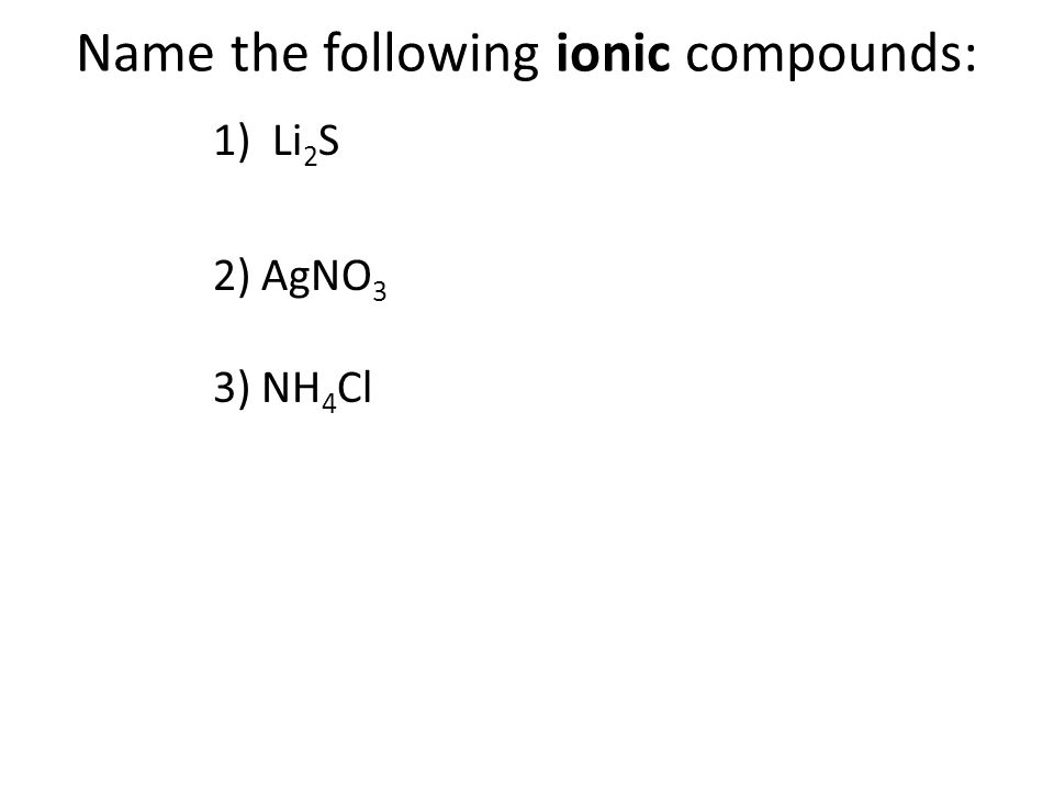 Happy new year do now 1 what is a positive ion called how 4 follow the directions on each slide you may use your reference chart sheet with periodic table compound naming practice urtaz Choice Image