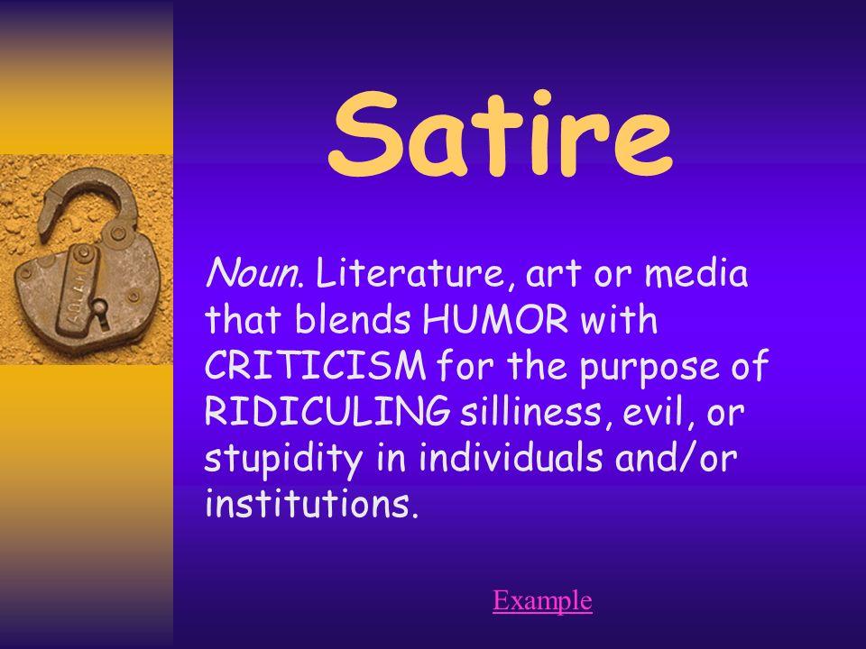 Literature purpose
