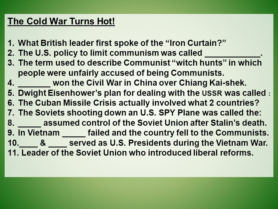 What British Leader First Spoke Of The Iron
