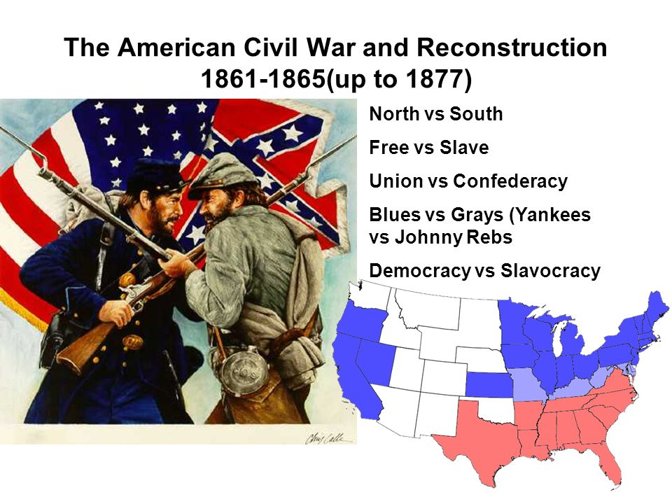 why north won civil war david donald reflection economic m The civil war happened only because the north invaded the south to force those seceded states back into the union the south objected of course to the invasion and attempted to drive them back home that's it, period.