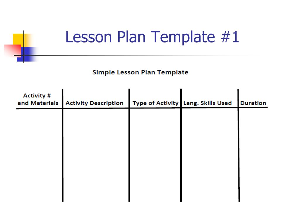 Lovely Efl Lesson Plan Template Pictures Inspiration Example - Simple lesson plan template