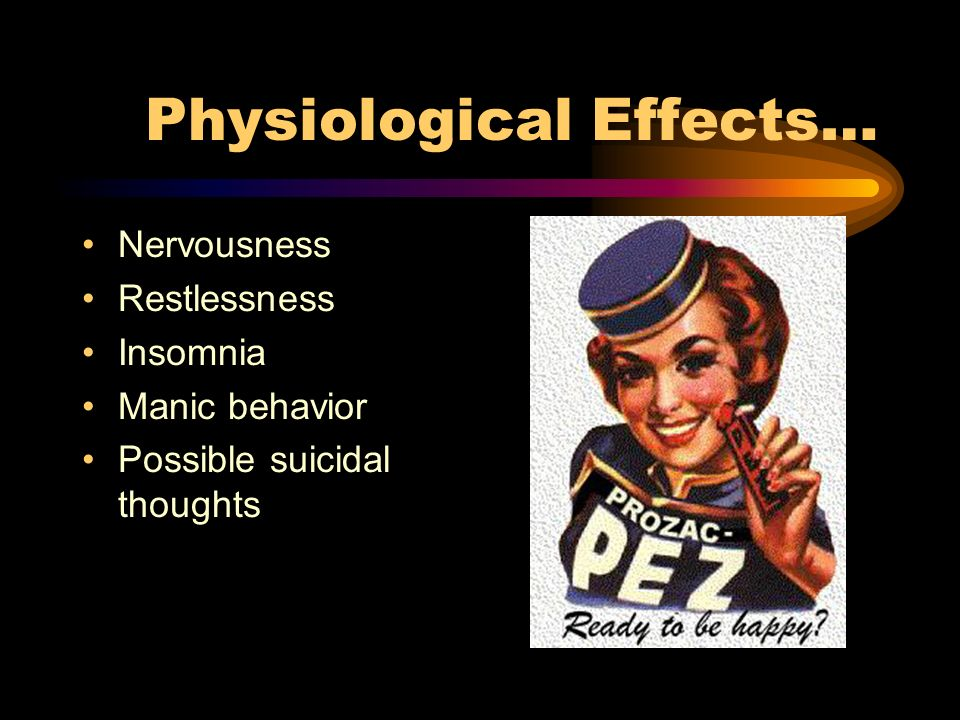 Possible Side Effects Of Stopping Prozac