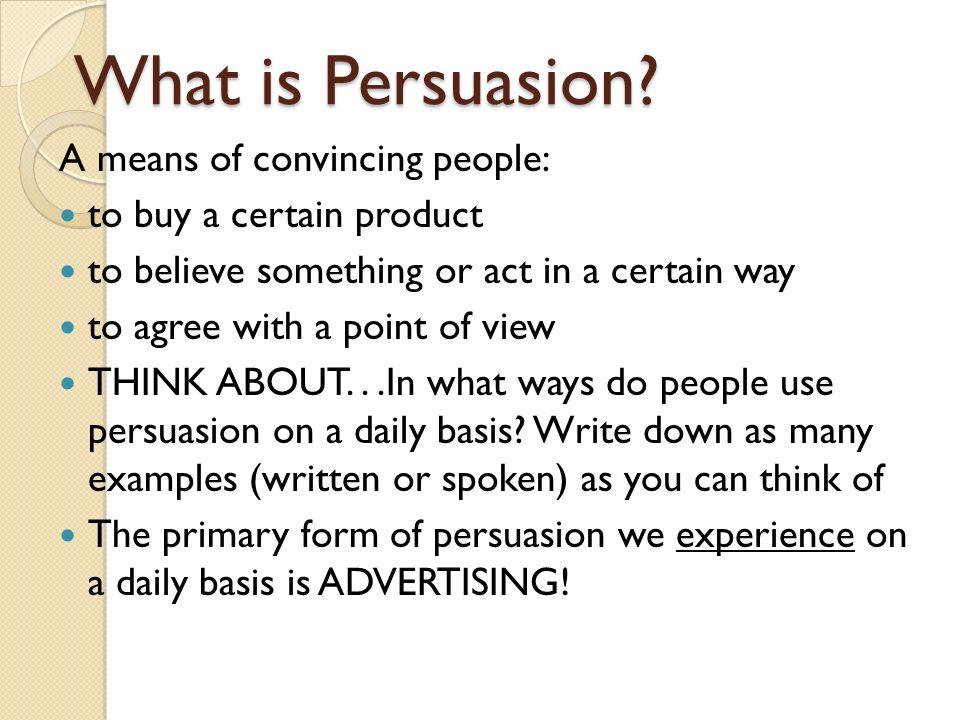 tips on persuasive writing