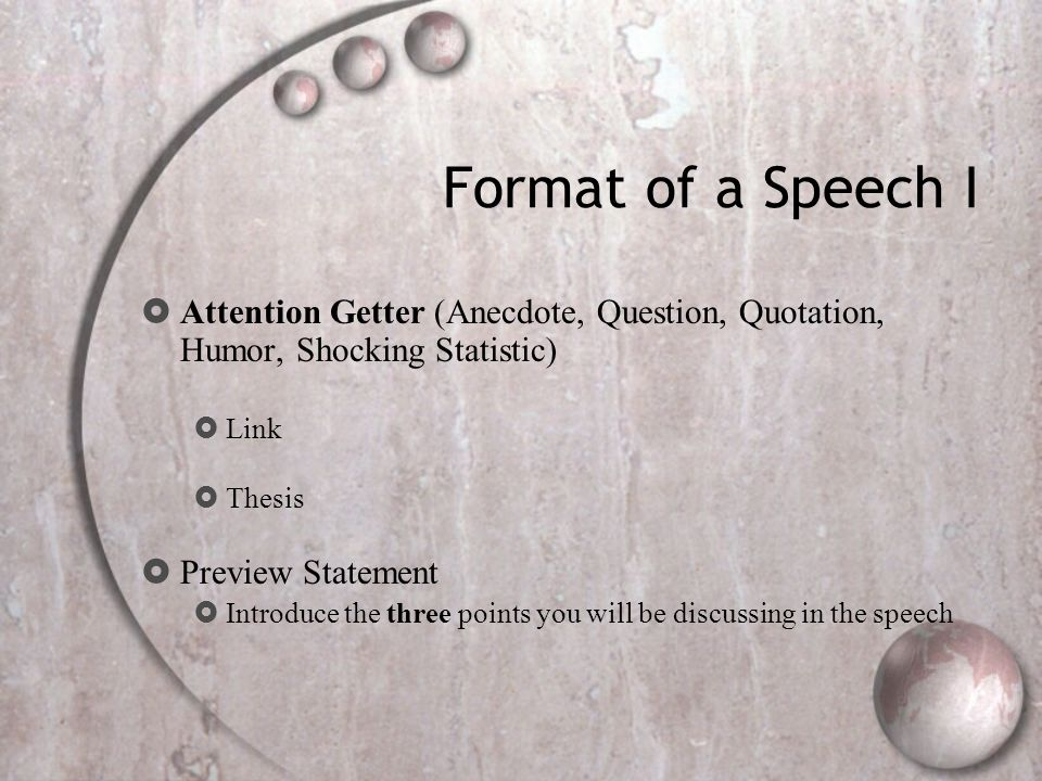 global warming persuasive speech attention getter This persuasive speech sample demonstrates how the persuasive speech outline is actually attention-getter a this persuasive speech sample will help you to.