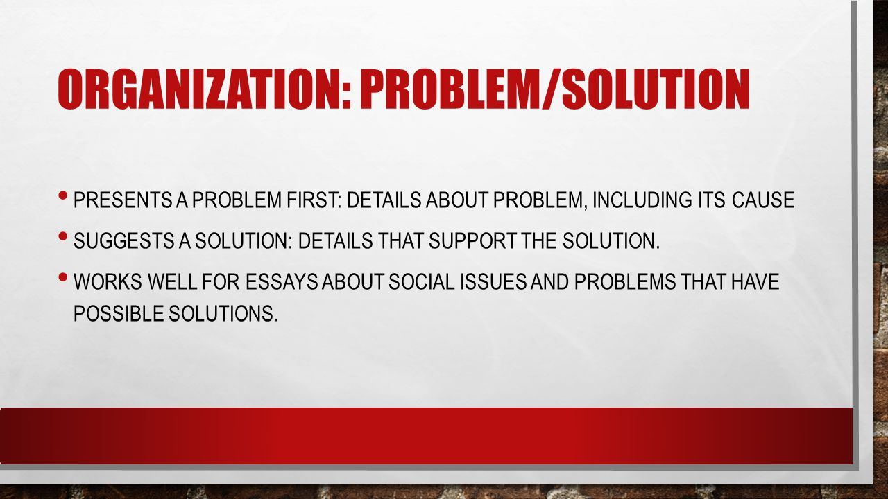 problem solution essay on pollution Solutions to environmental pollution environmental sciences essay disclaimer: this essay has been solutions the problem of land pollution.