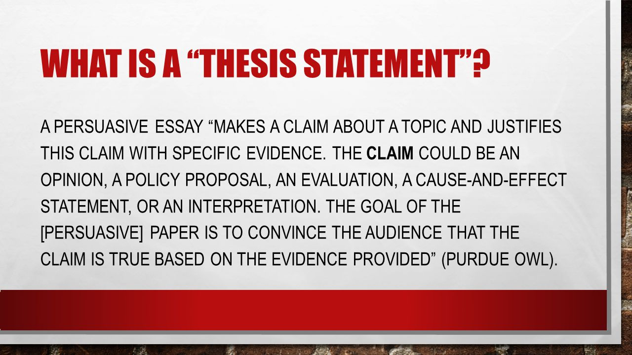 "thesis statements how to then do what is a ""thesis statement"" a  2 what"