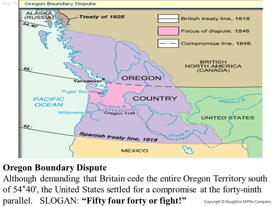 boundary dispute