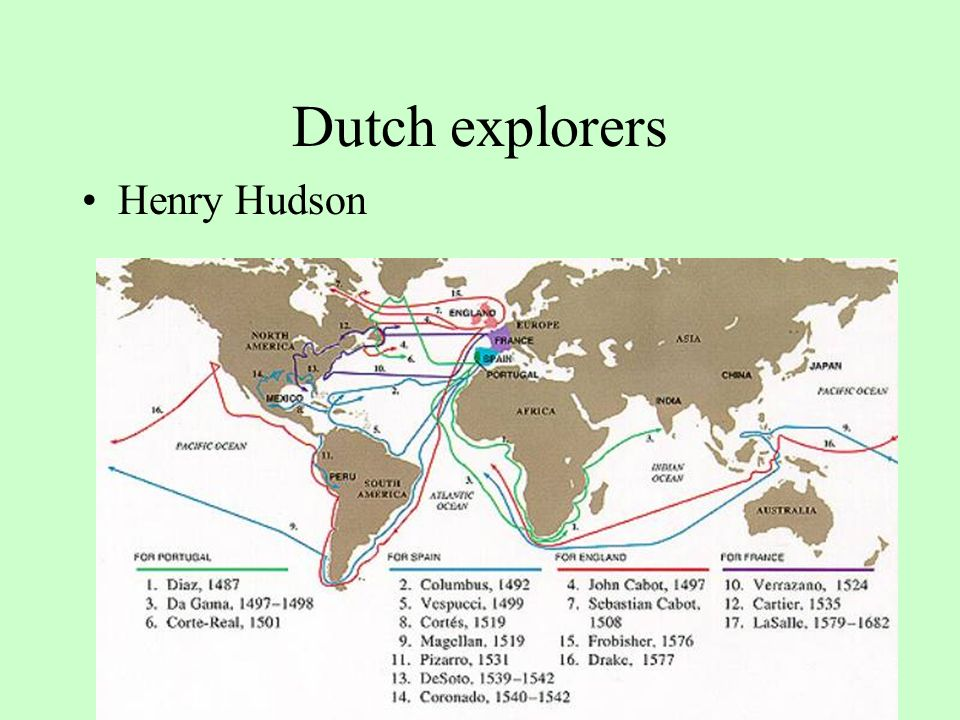 European Exploration And Settlement Of The New World The Chart Of - Map of us explorers coronado la salle