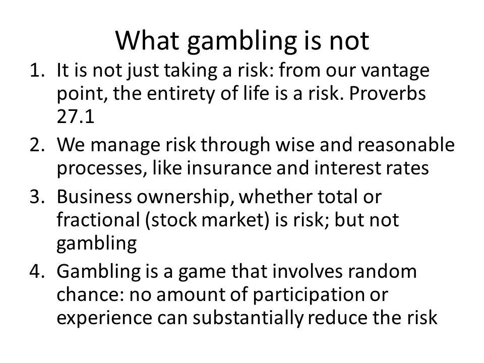 Gambling and christian ethics nickel machines gambling