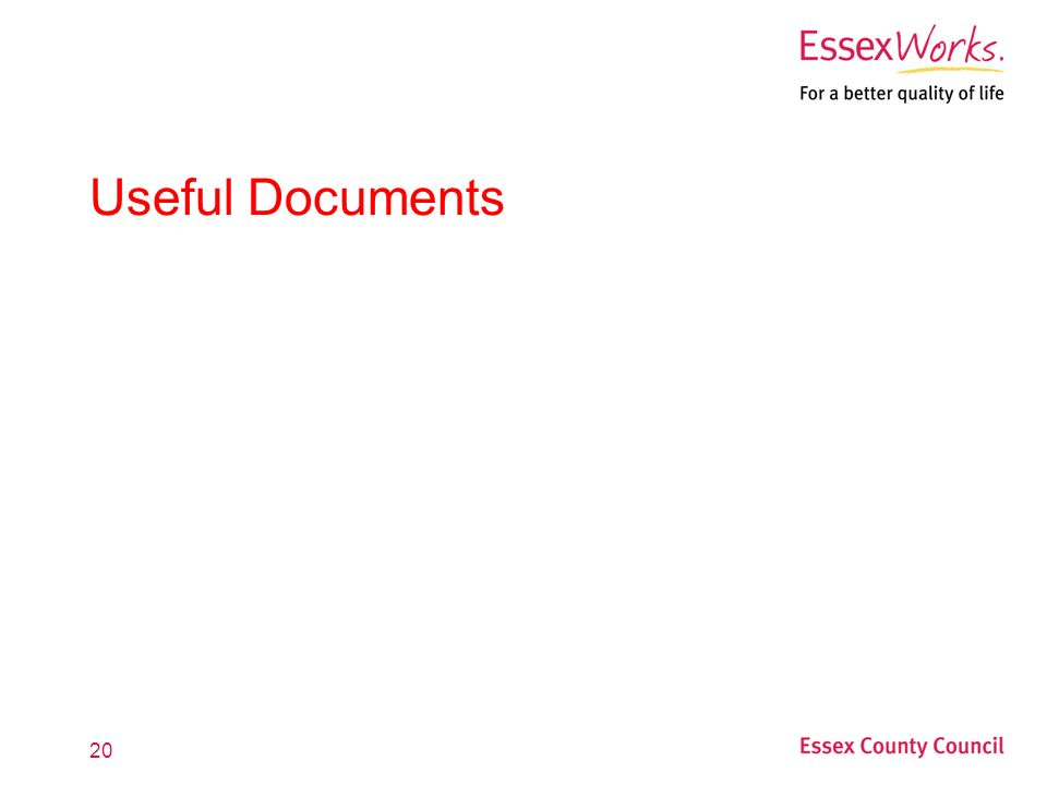 20 Useful Documents