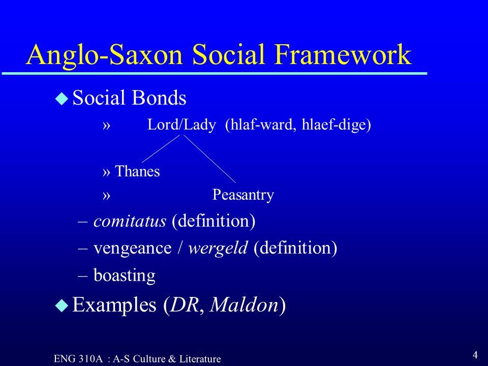 comitatus anglo saxon