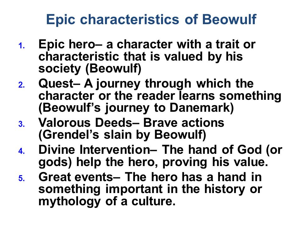 Beowulf Essay Questions