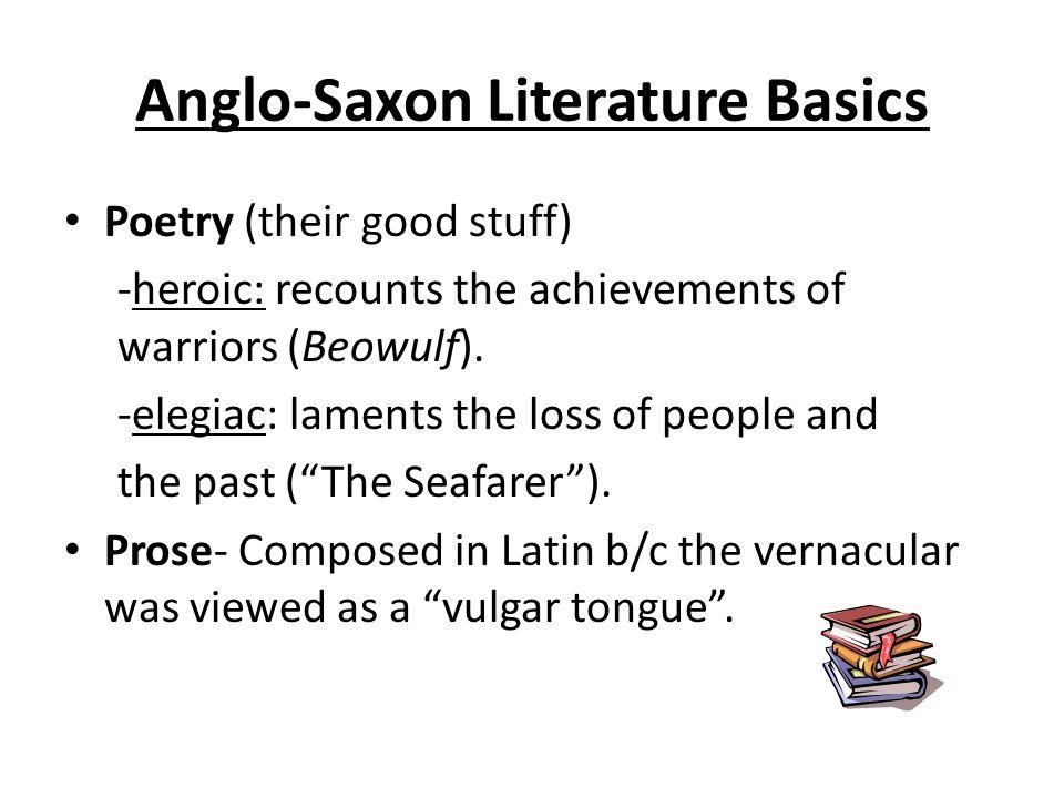 beowulf a heroic elegiac poem