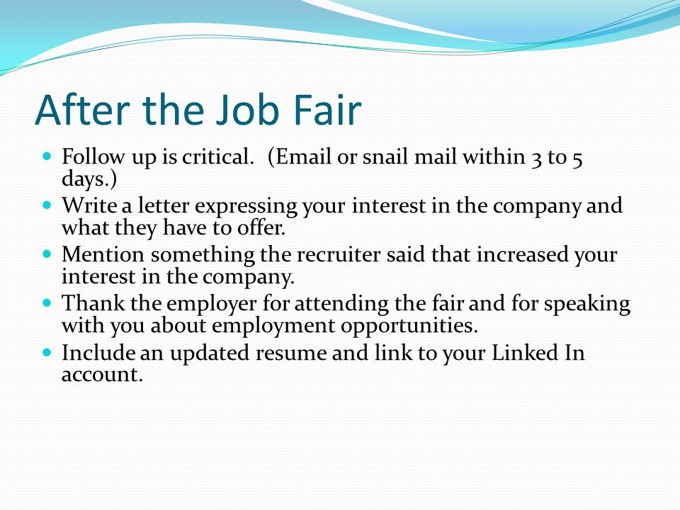 Help With Paper Types - MGX Copy prepare resume job fair How to ...
