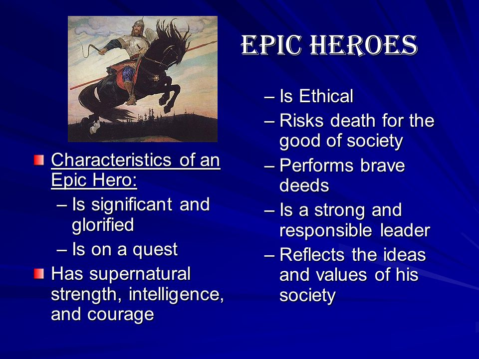 beowulf the characteristics of a hero Characteristics of an epic hero beowulf essay assignment reflective essay on creative writing author: april 9, 2018 0 comments uncategorizedas well.