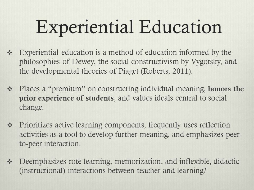 Portland School of Experiential Education   Mission Statement