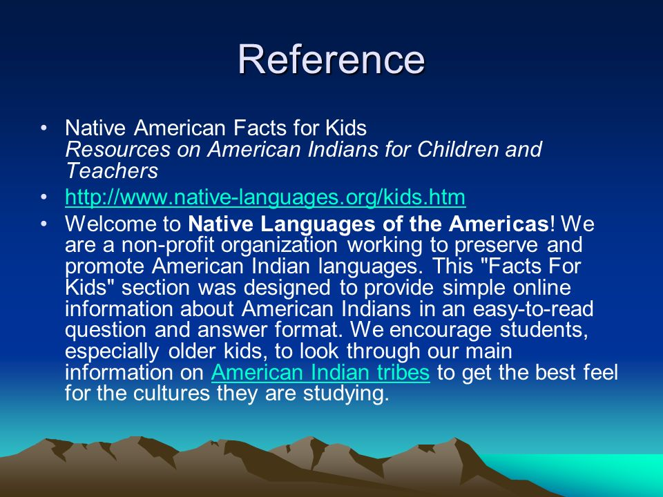 reference native american facts for kids resources on american indians for children and teachers http