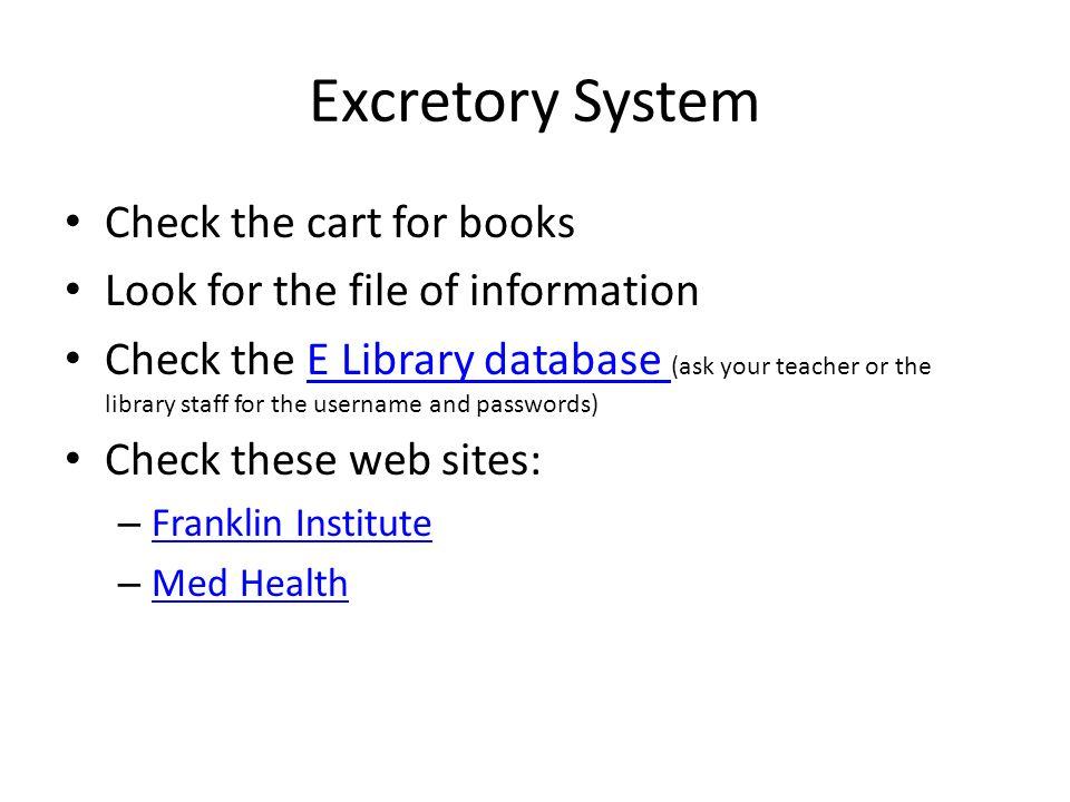 DiseaseDisorder Research Body Systems Endocrine Endocrine – Excretory System Worksheet