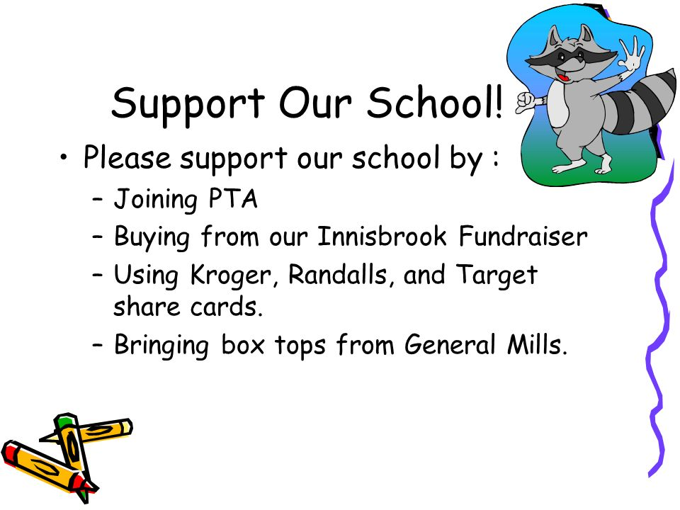 Support Our School.