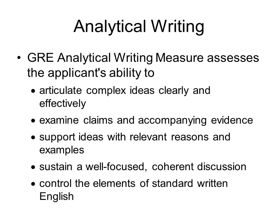 analytical writing The elements of an analytical essay are present in all non-fiction text structures, even though they may be called by different names in different subject areas this chart identifies what each structural element is called in each of the core subjects.