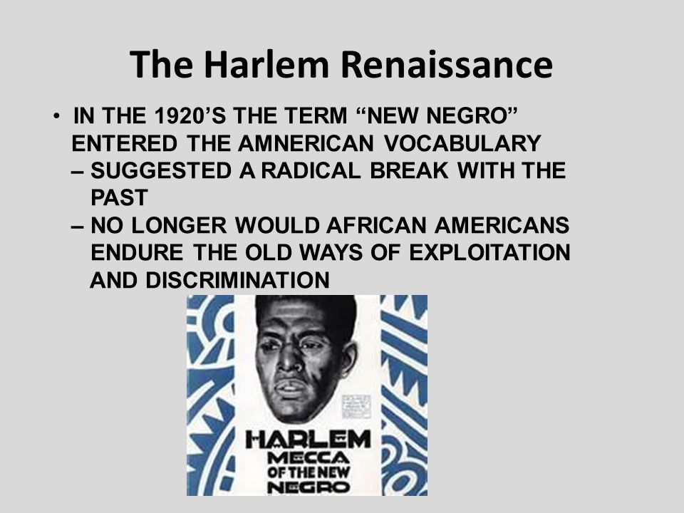 writers of the harlem renaissance essay