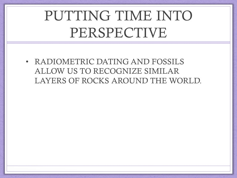 radiometric dating allows us to determine an absolute errorless date