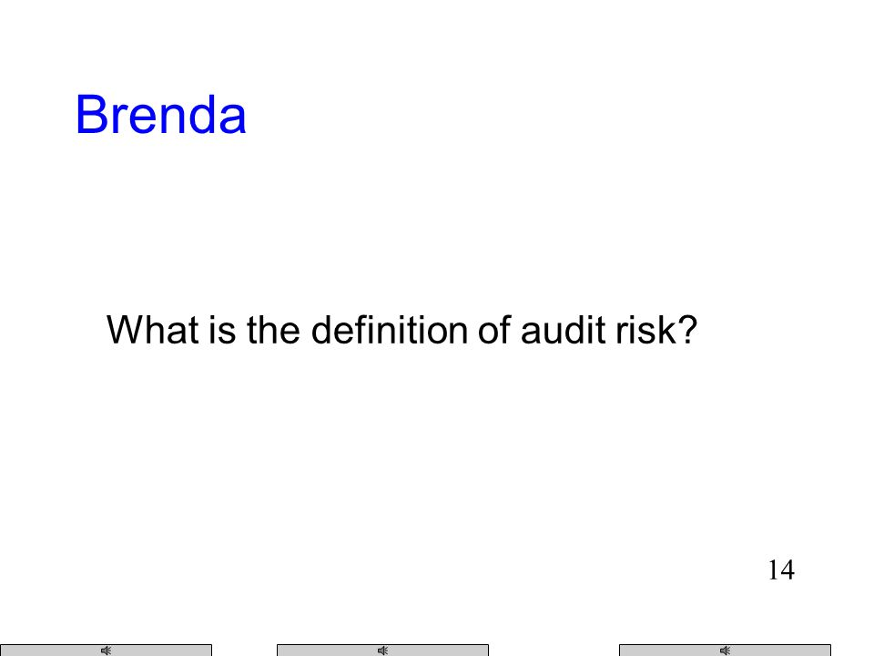 13 How do we obtain audit evidence Jennifer