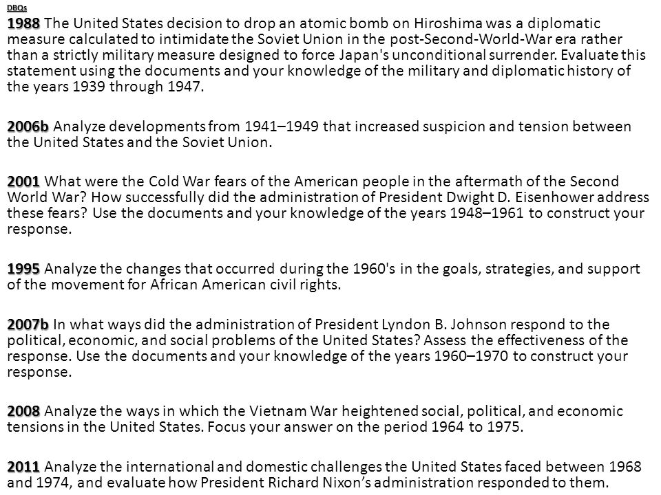 Best american history essay topics