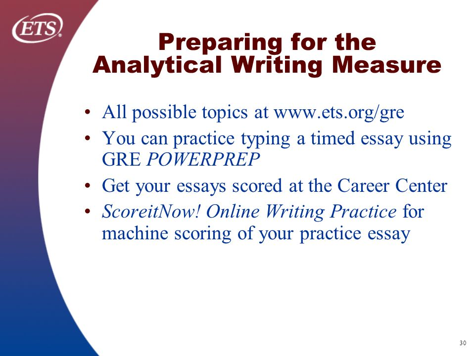 Gre essay practice questions