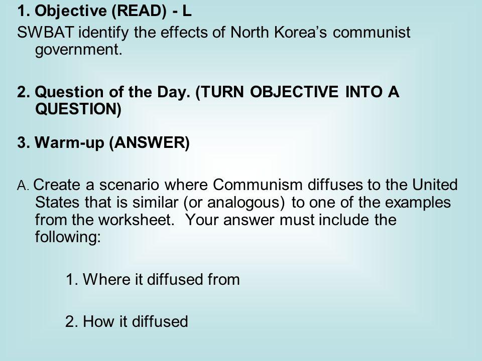 Inside North Korea Worksheet - Synhoff