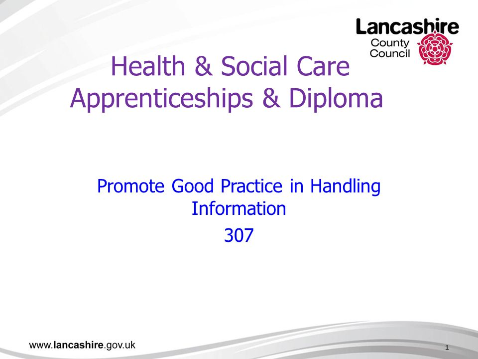 health and social care diploma unit