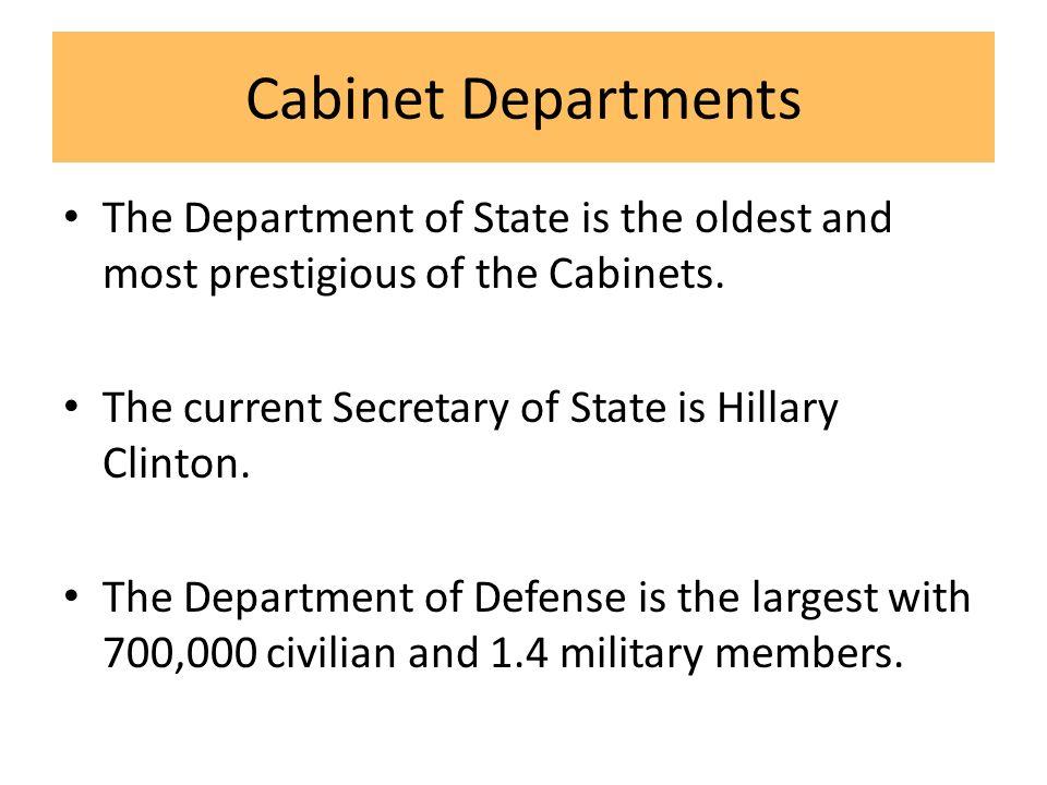The Executive Branch. President's Job Description The President of ...