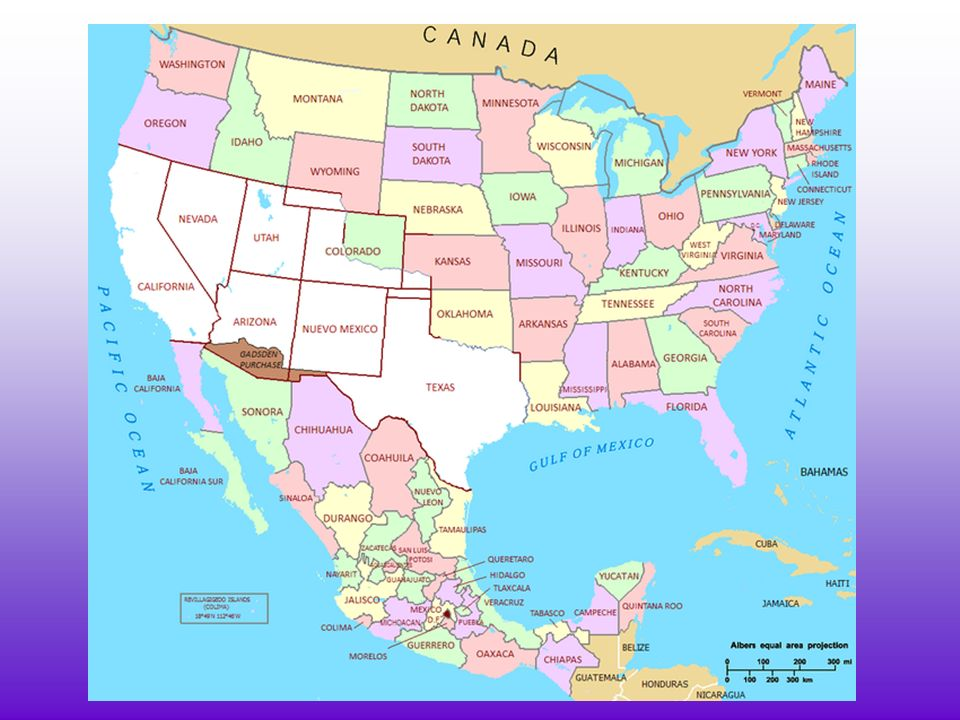 BELLWORK Look At The Map On Page And Answer The Following - Map of southern us and mexico