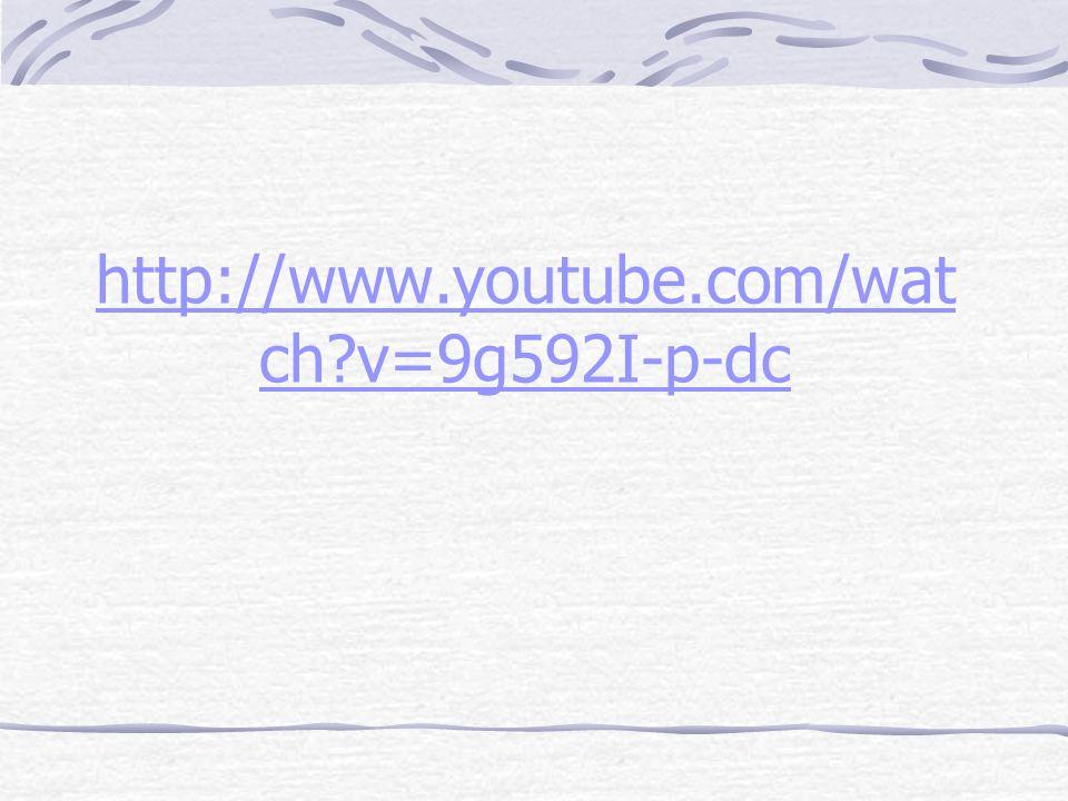 http://www.youtube.com/wat ch v=9g592I-p-dc