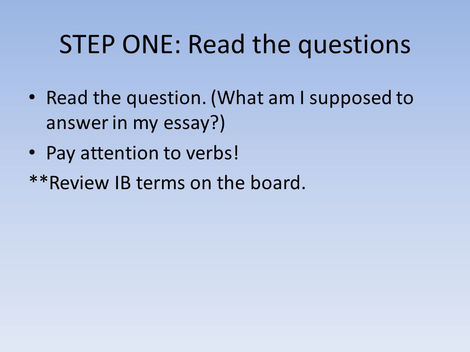 step to write essay Learning to write an essay is a skill you will use throughout your life the simple organization of ideas you use when writing an essay will help you write business letters, company memos, and marketing materials for your clubs and organizations anything you write will benefit from the simple parts.