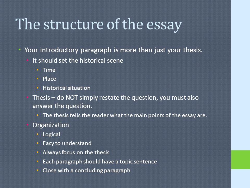 Frq Essay