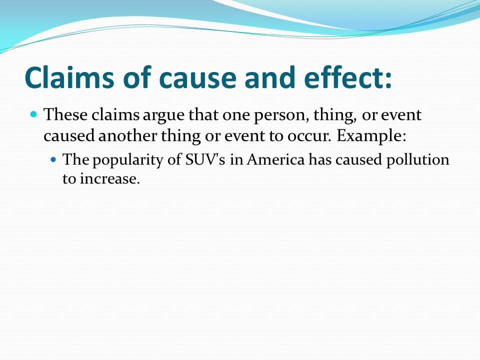 causes and effect essay about pollution
