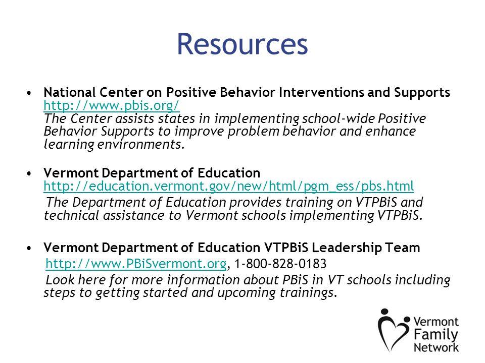 positive behavior improvement 10 step implementation