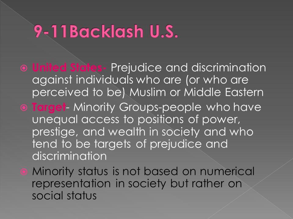 minority discrimination