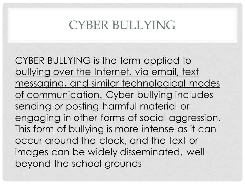 bullying essay topics