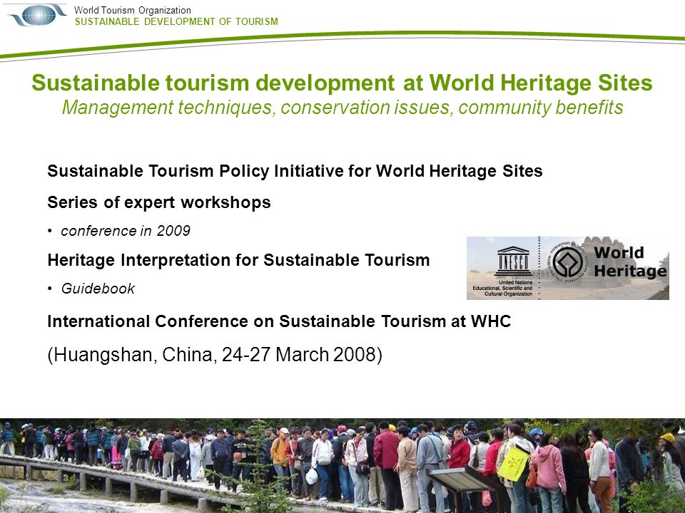 the development of tourism around certain Policies for tourism development to reach the minimum viable size of hotel, planners may group hotels around especially where tourism development in certain.
