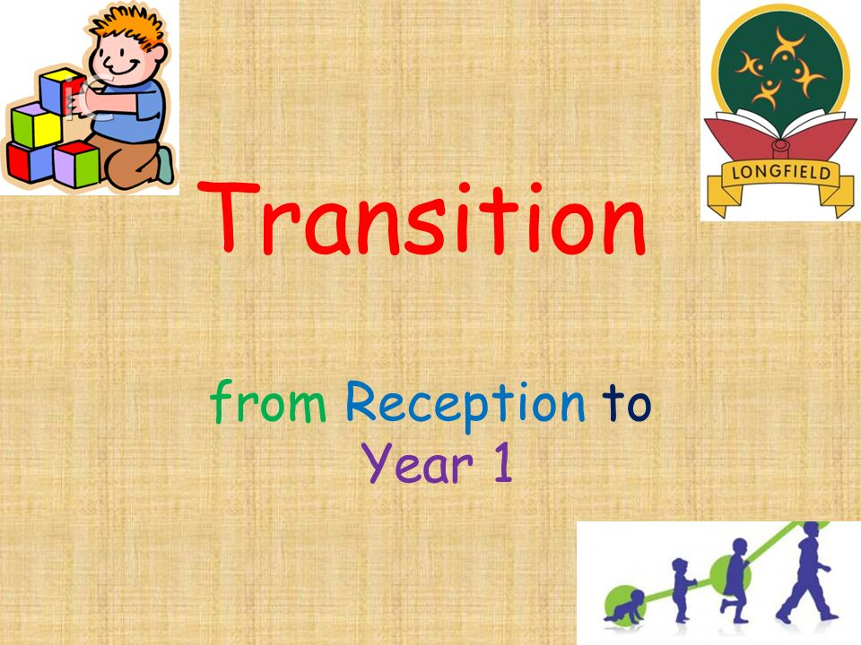 Transition from Reception to Year 1