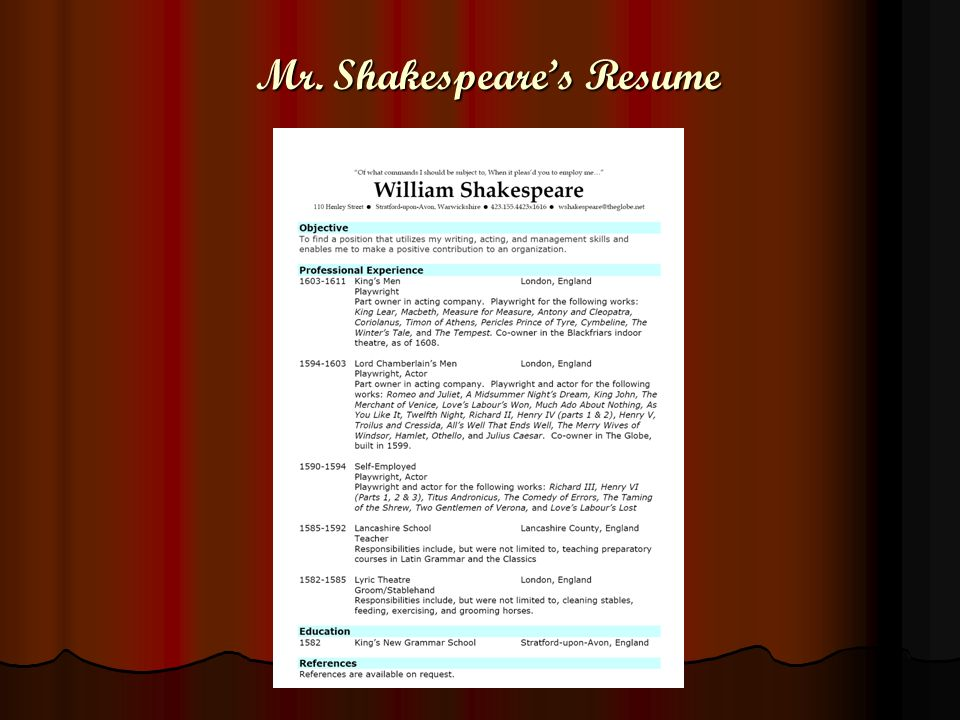 introducing mr william shakespeare the poet and playwright born