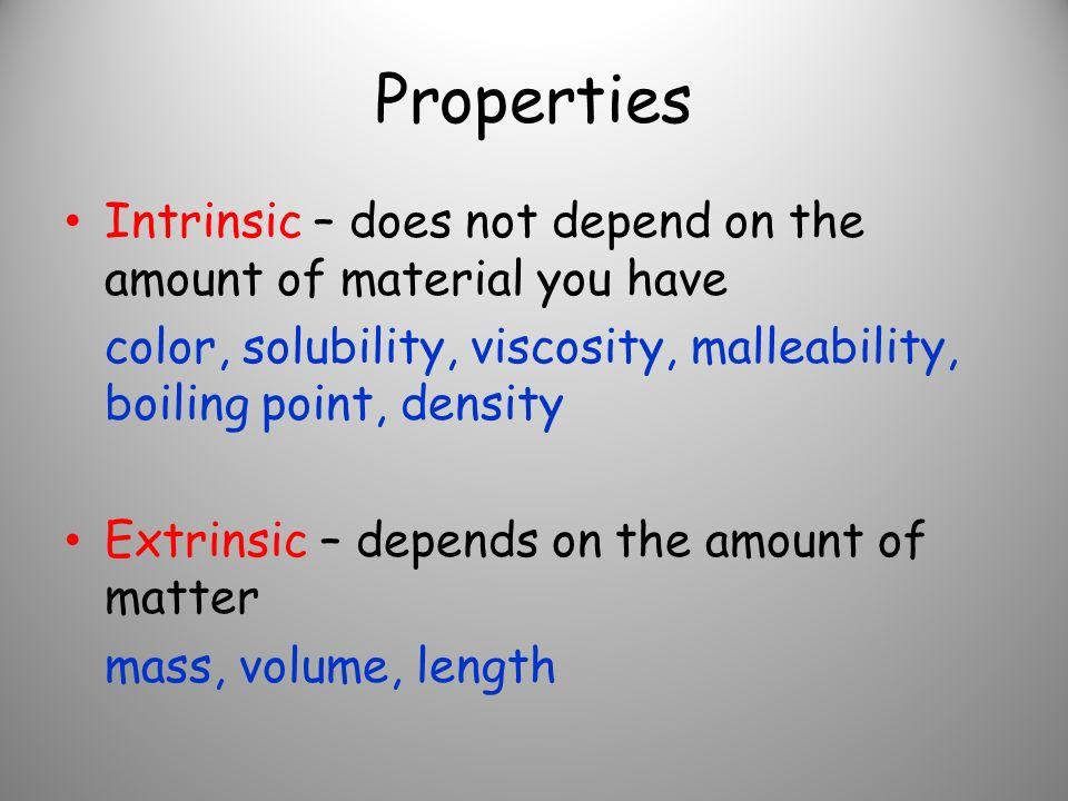 viscosity  malleability  Malleability Examples