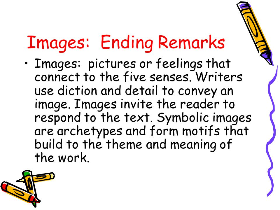 Non literal imagery analysis essay