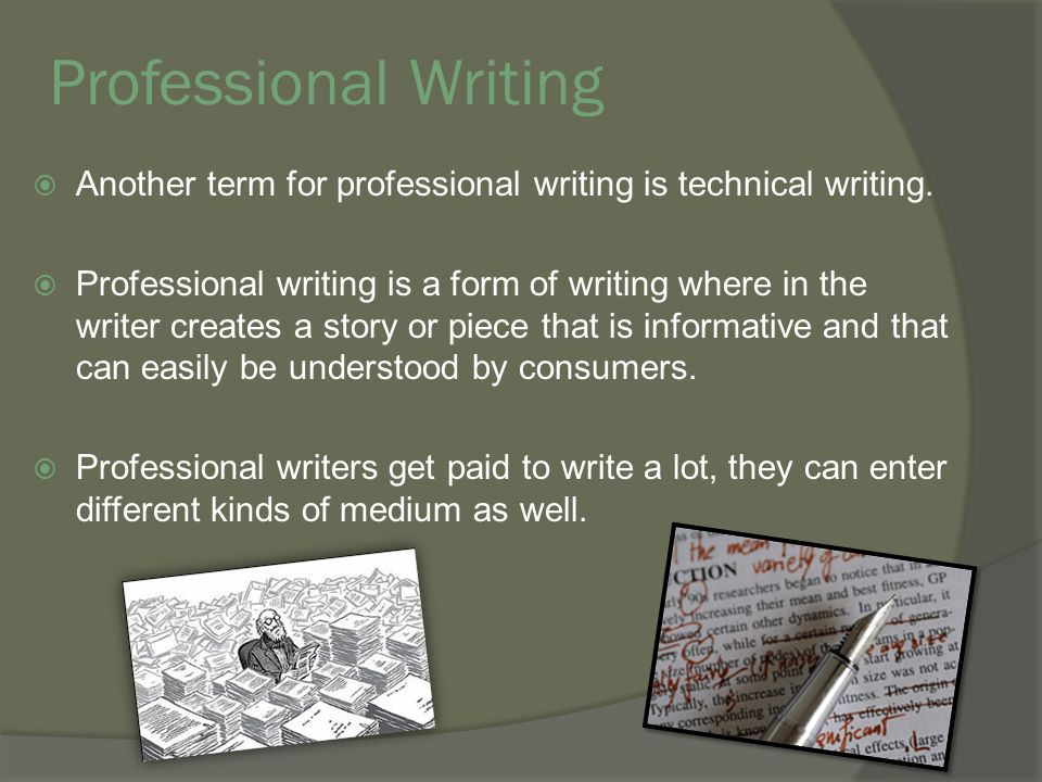 It technical writing