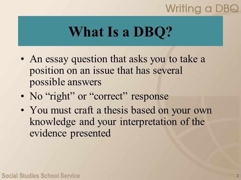 writing a dbq ap u s history what is a dbq an essay  2 what is a dbq