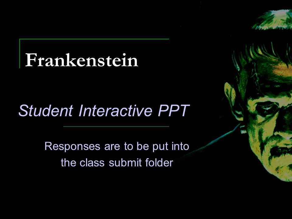Essay Topics For Frankenstein
