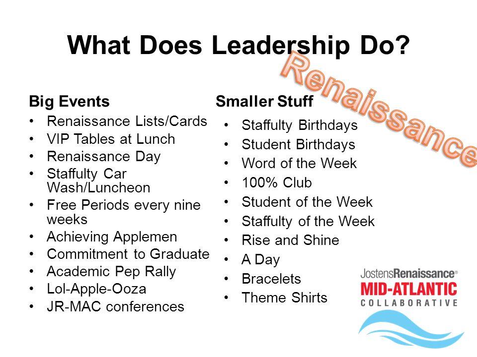 student leadership essay
