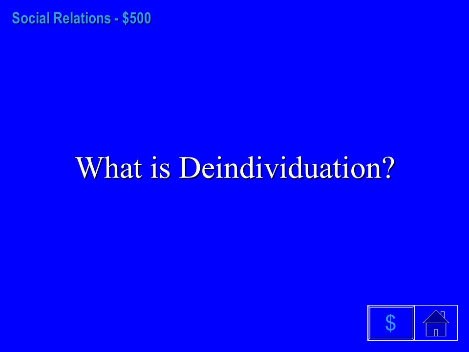 Social Relations - $400 What is Social Facilitation $